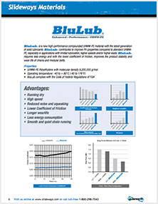 BluLub Material Sheet