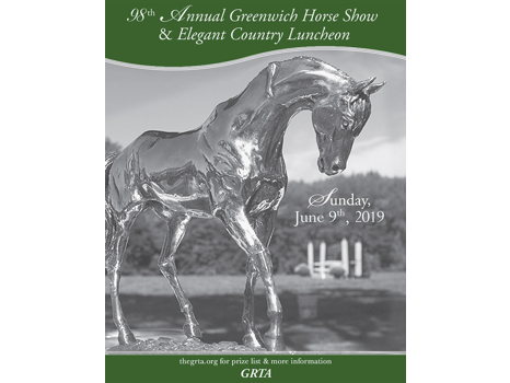 2 Tickets to the Greenwich Riding + Trails Horse Show Luncheon