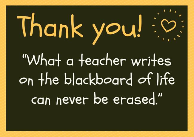 Teacher Gratitude Image