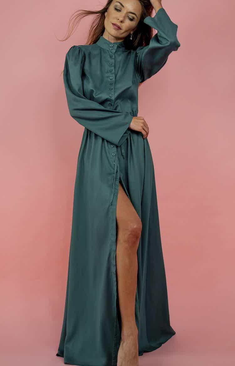 Emerald Summer Dress