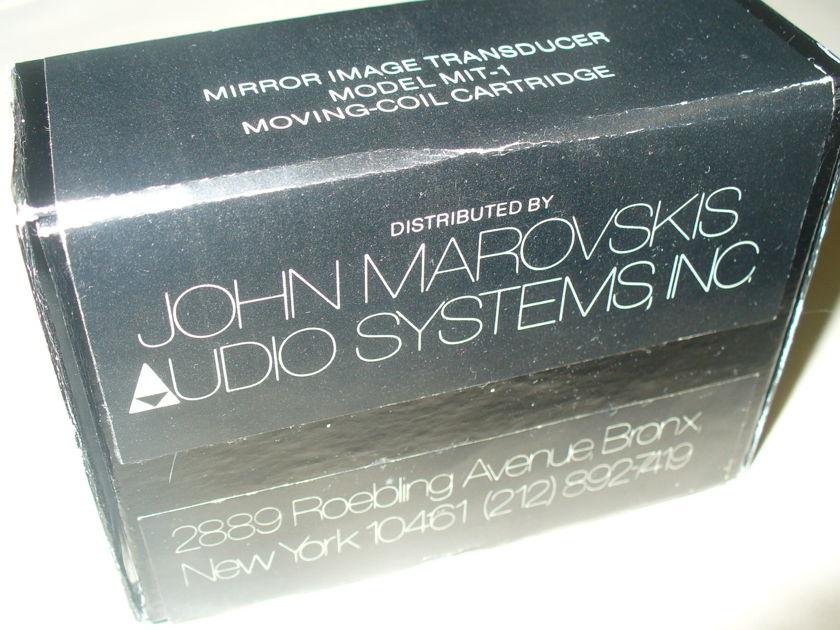 JOHN MAROVSKIS MIT-1 MC Cartridge
