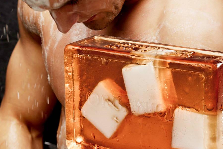 Glycerin Handmade Soap Bar Masculini
