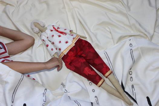 """Кукла-тильда """"Пижамный ангел"""""""