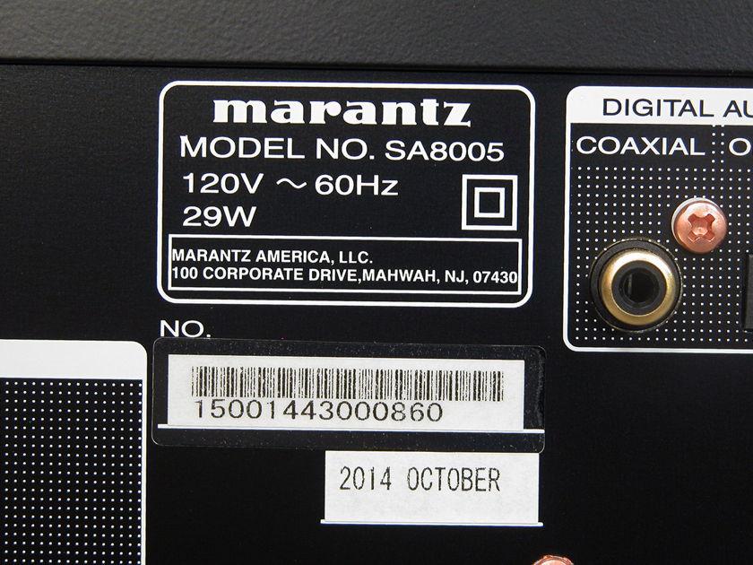 Marantz SA-8005 SACD Player
