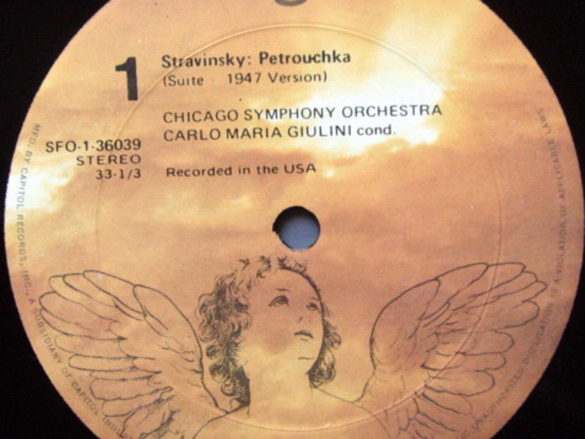 EMI Angel / GIULINI, - Stravinsky Petrouchka-Firebird,  NM!