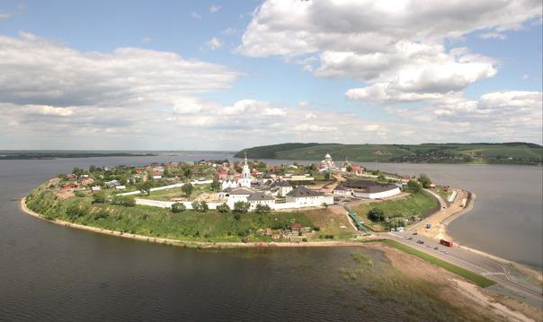 Остров-град Свияжск и Раифский Богородицкий монастырь за один день
