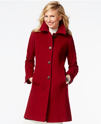 anne-klein-petite-red-peacoat-modelling-sex-porn