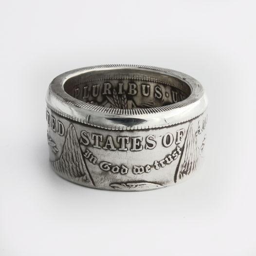 Кольцо из монеты - США Доллар Моргана