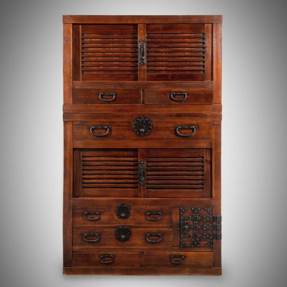 Shop Japanese Antique Furniture - Tansu, Dansu Chests & Japanese Woodblock Prints - Meiji & Edo Period   Indigo Antiques
