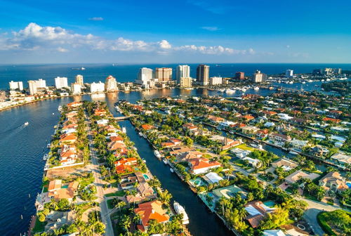 skyview of Fort Lauderdale