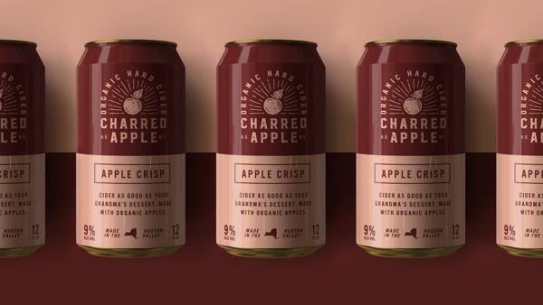 Charred Apple Hard Cider