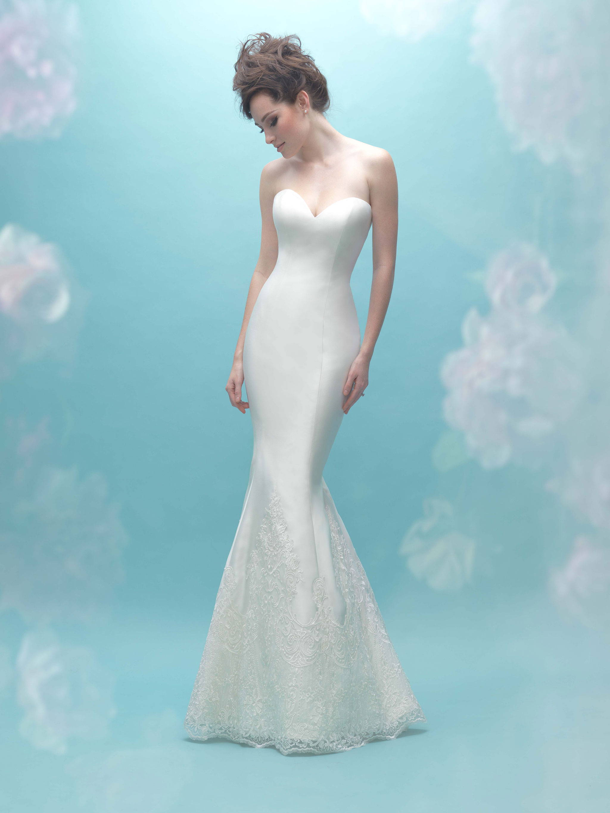 ALLURE  WEDDING DRESS 9458