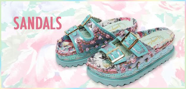 Irregular Choice Sandals | Tiltedsole.com