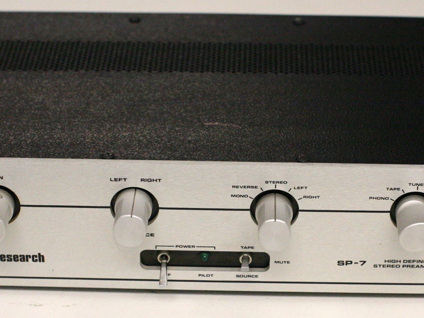 Audio Research SP7 Solid State Preamplifier