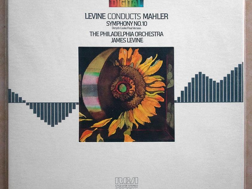 Sealed RCA Digital | LEVINE/MAHLER - Symphony No. 10 (Deryck Cooke final) / Audiophile German Pressings - Demo copy