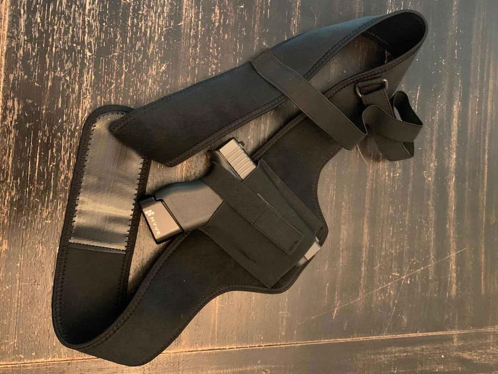 shoulder holster review, shoulder holster for men, shoulder holster for fat guy, right hand shoulder holster