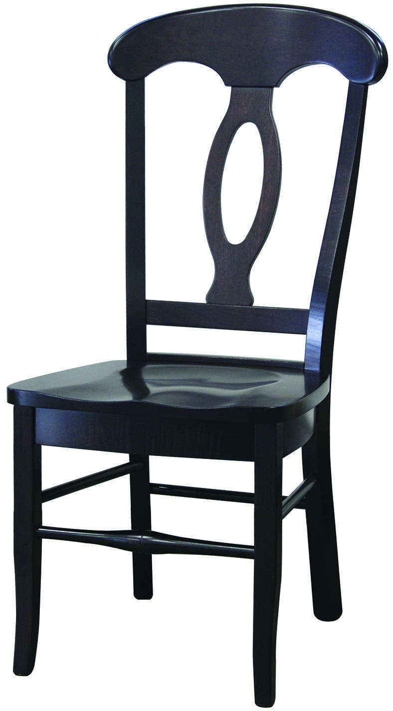 Napoleon Solid Wood, Handcrafted Kitchen Chair or DIning Chair from Harvest Home Interiors Amish Furniture