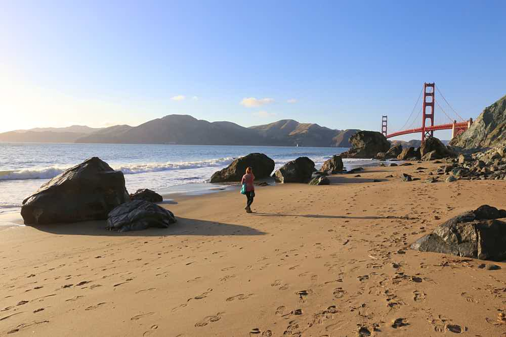 Marshall Beach in San Francisco