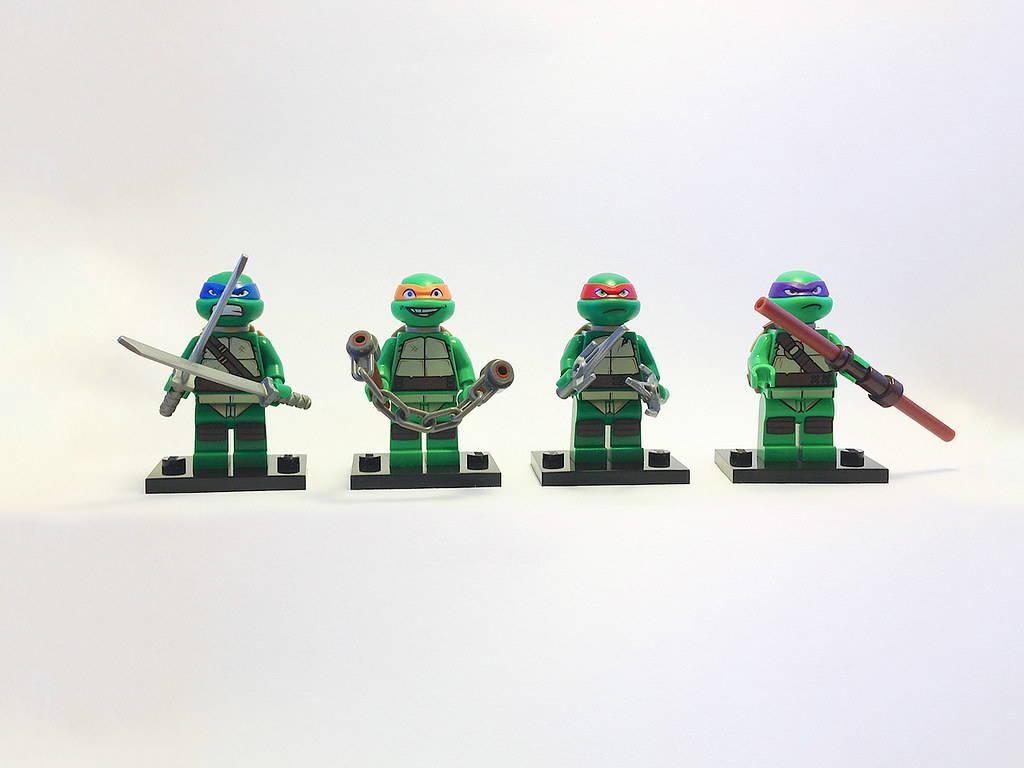 LEGO Teenage Mutant Ninja Turtles Minifigures