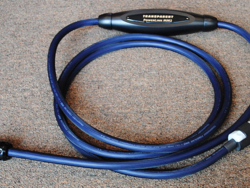 Transparent  PLMM2 4 Meter MM2 Technology Power Cable