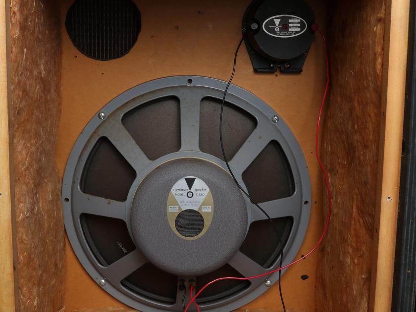 JBL  C38  D130 & 075  (030 Load)