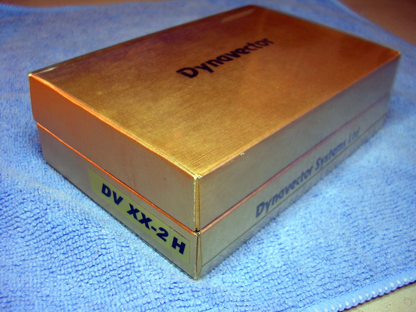 Dynavector DV XX-2H Moving Coil Cartridge - Low Hours - Great Condition!