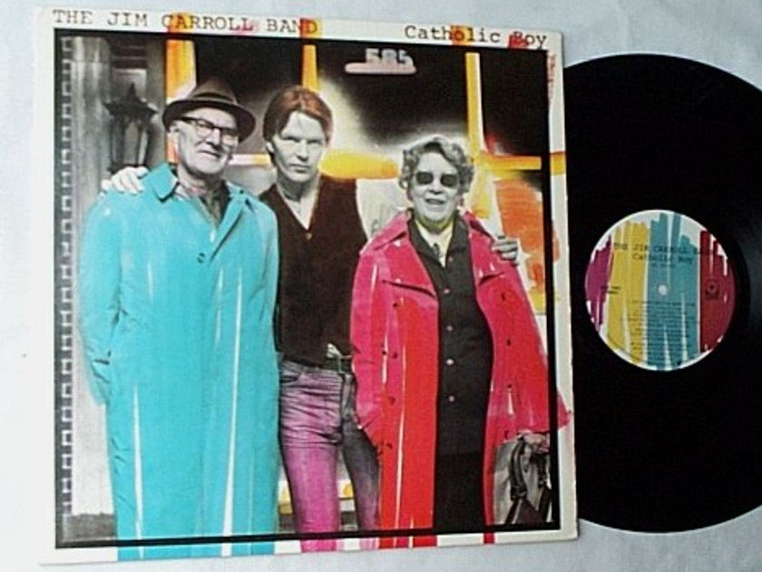 Jim Carroll Band LP-Catholic boy- - orig 1980-his finest album-awesome new wave punk music