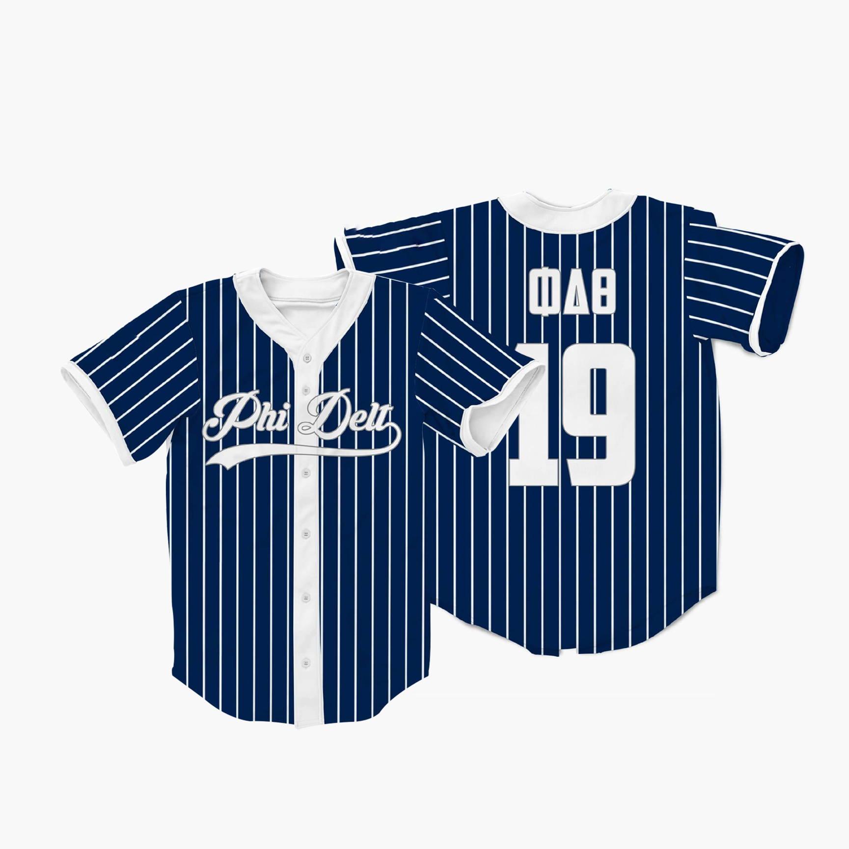 custom design baseball jersey