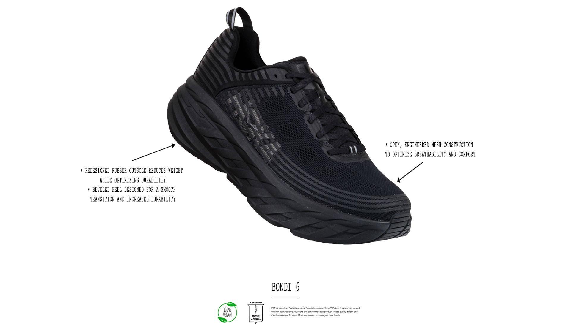 Shop Hoka One One Bondi 6 Shoes Online