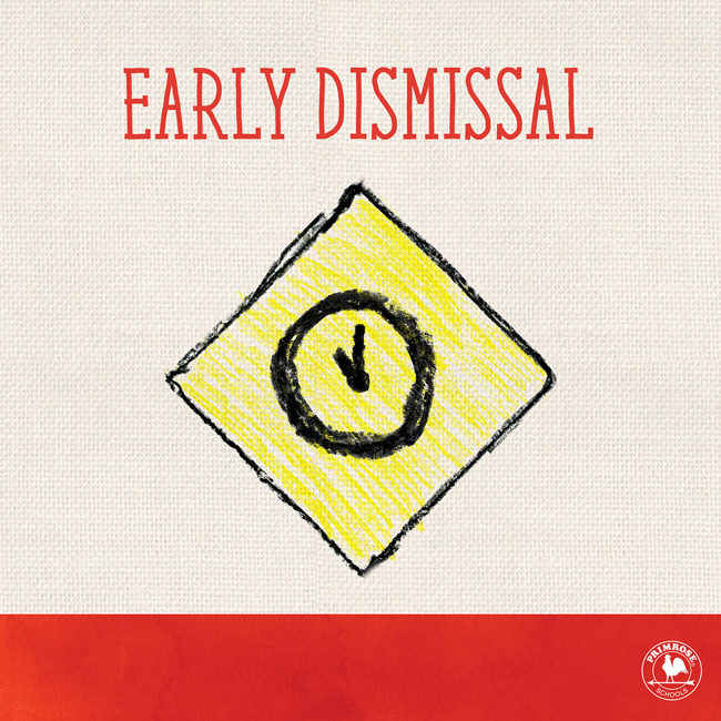 primrose west pearland; tropical storm; early dismissal