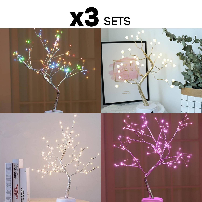 Lighting Tree,  Fireflies lights, shining lights,  December lights