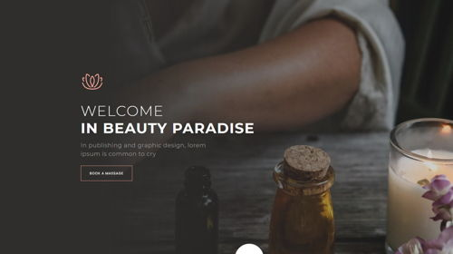 Massage Homepage