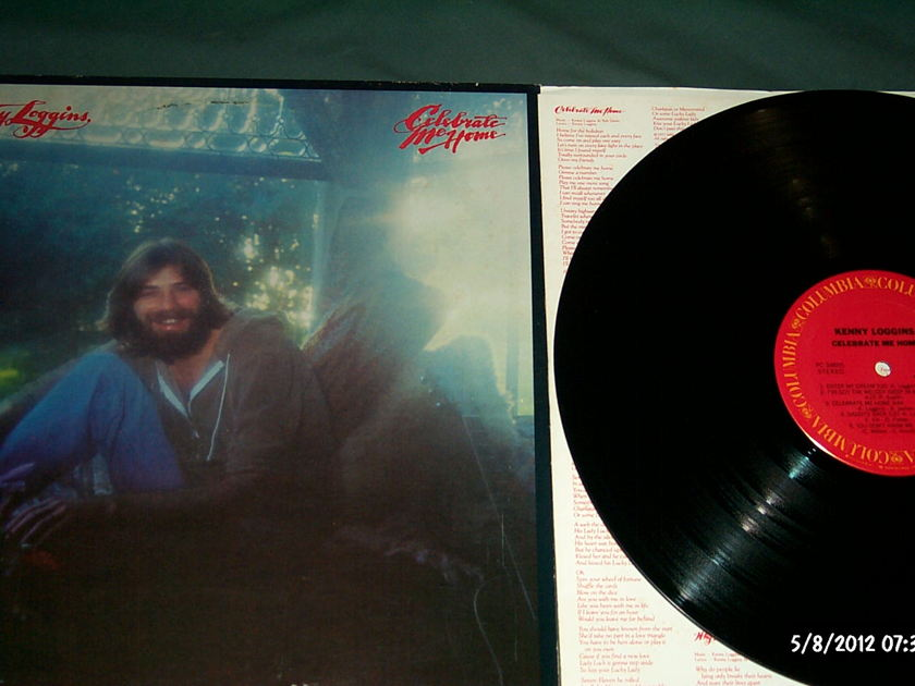 Kenny Loggins - Celebrate Me Home LP NM