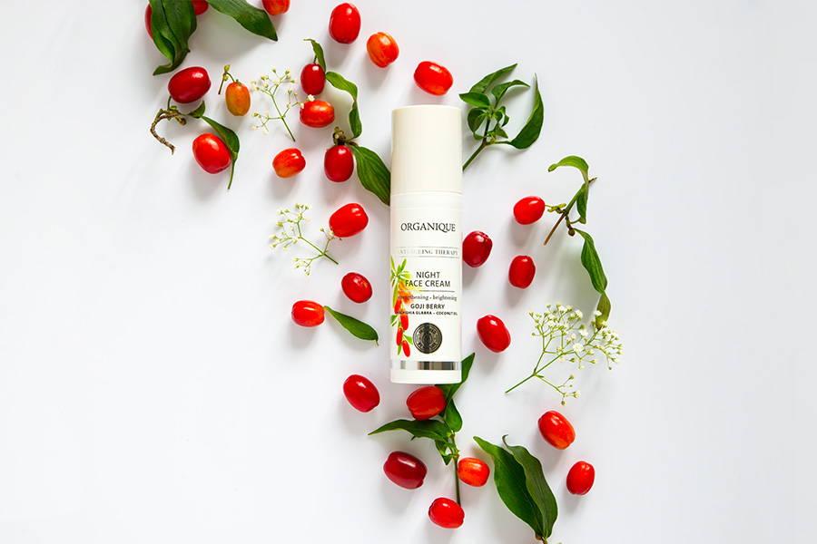 Goji Anti Ageing Therapy Night Face Cream Organique cosmetics