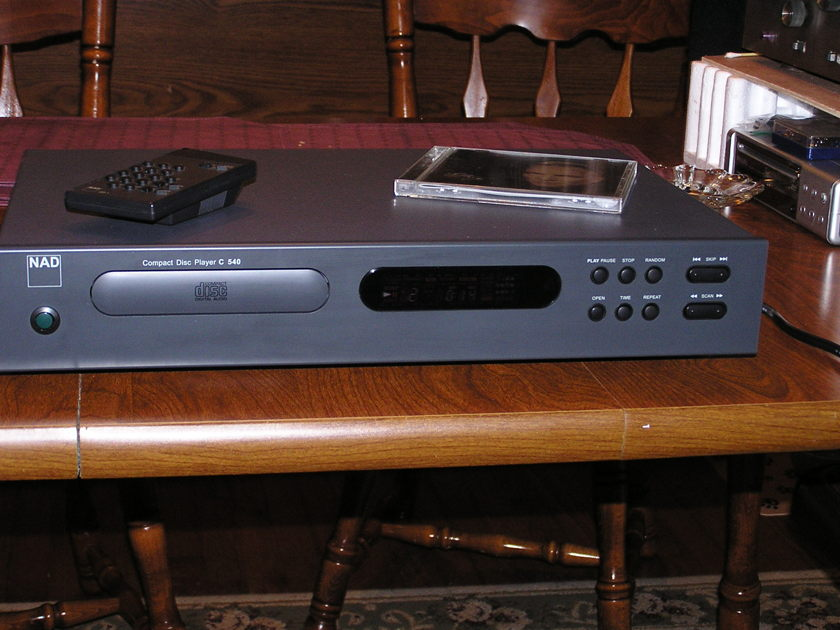 NAD C 540 Single Disk CD Player