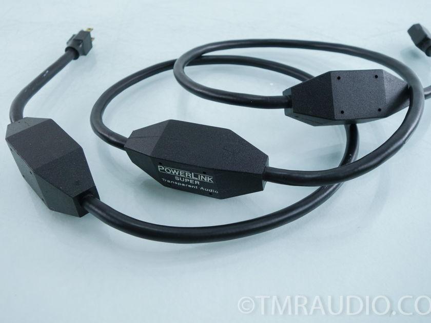 Transparent Audio PowerLink Super Power Cable; 2m AC cord (9702)