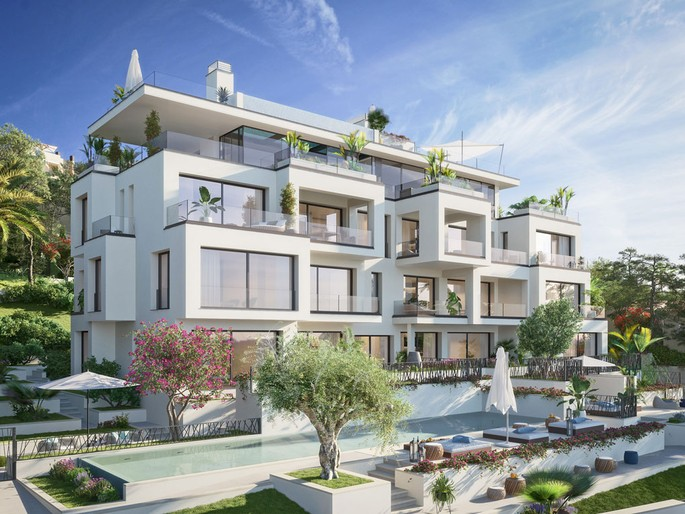 Apartment project with sea views in Cas Catalá