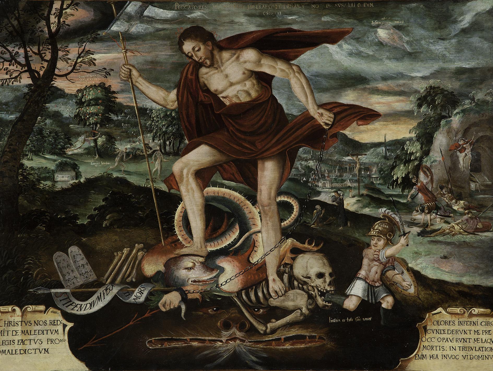 Christ Descending into Hell