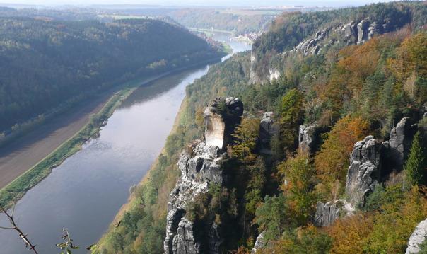 Замки Саксонской Швейцарии