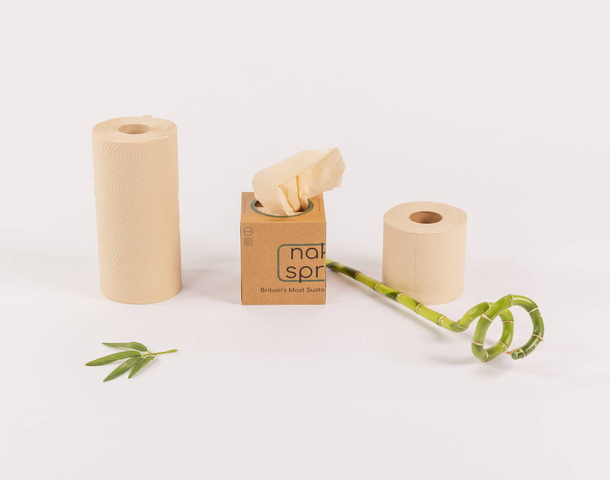 Naked Sprout | Britain's Most Sustainable Bamboo Toilet Roll