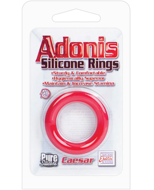 Adonis Silicone Cock Ring