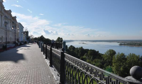 Пешеходная экскурсия по Верхне-Волжской набережной