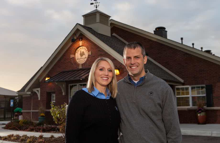 Franchise Owners of Primrose School Diane and Darren Storkamp