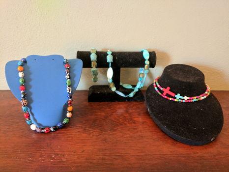 Handmade Beaded Jewelry Set