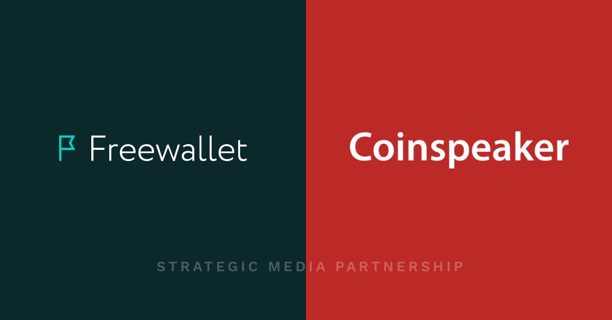 Meet our new media partner: CoinSpeaker