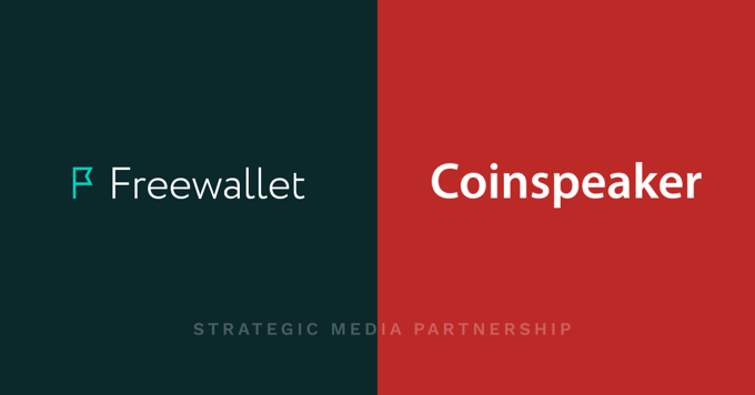 Meet our new media partner: CoinSpeaker