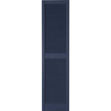 STANDARD LOUVERED SHUTTERS-NAVY