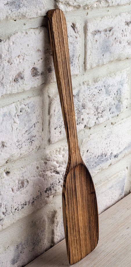 Деревянная лопатка для кухни