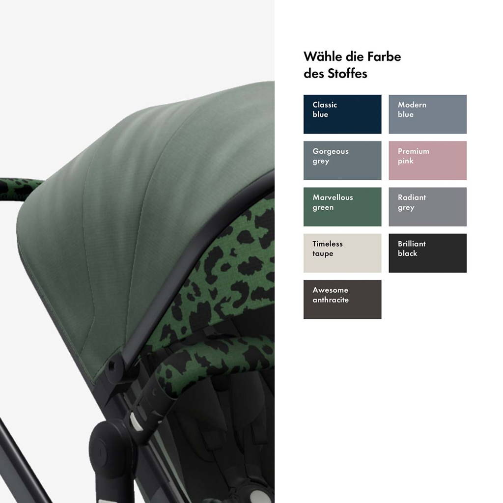 Joolz Style it yourself - Farbe des Stoffes