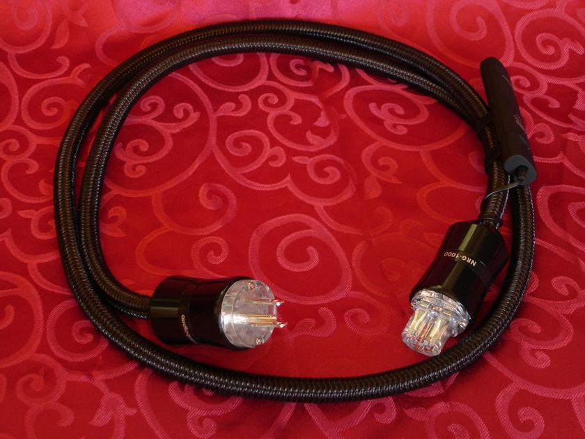 Audio Quest NRG-1000 (6 FT)  NIB Premium AC Power Cable